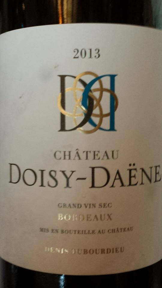 Château Doisy-Daëne – Grand Vin Sec 2013 – Bordeaux