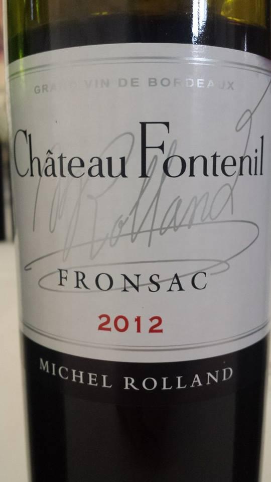 Château Fontenil 2012 – Fronsac
