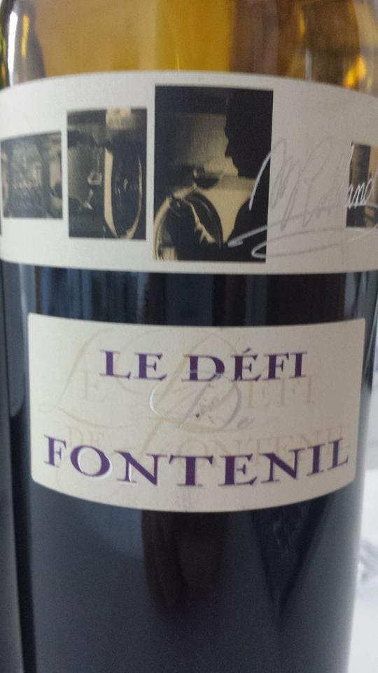 Château Fontenil – Le Défi de Fontenil 2012 – Vin de France