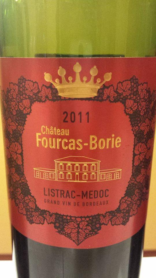 Château Fourcas-Borie 2011 – Listrac-Médoc