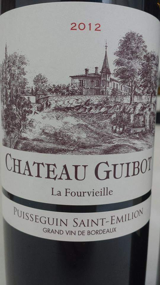 Château Guibot La Fourvieille 2012 – Puisseguin Saint-Emilion