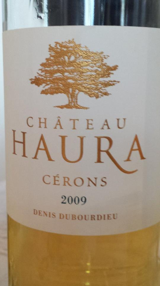 Château Haura 2009 – Cérons