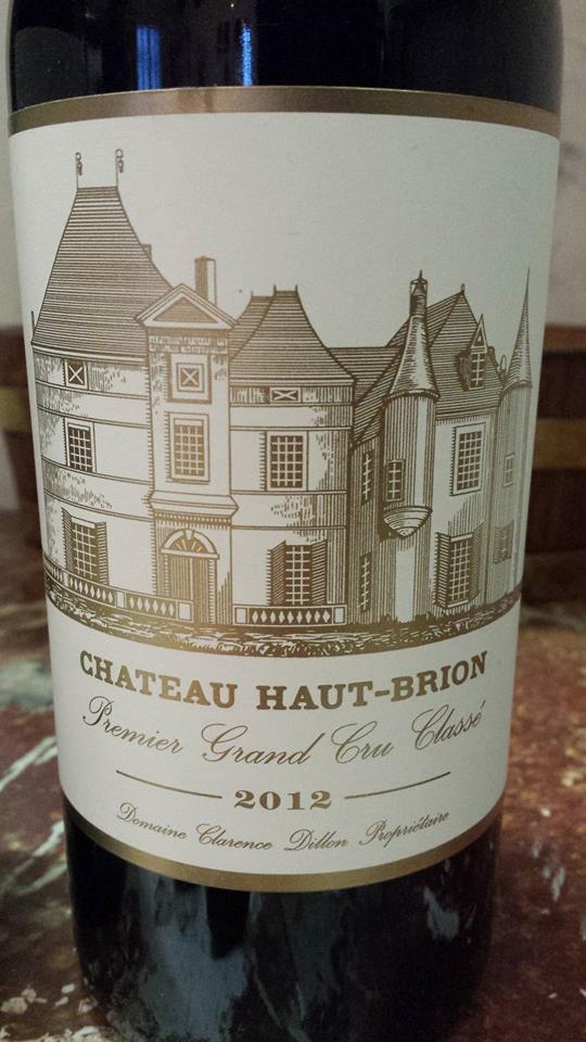 Château Haut-Brion 2012 – Pessac-Léognan, 1er Grand Cru Classé