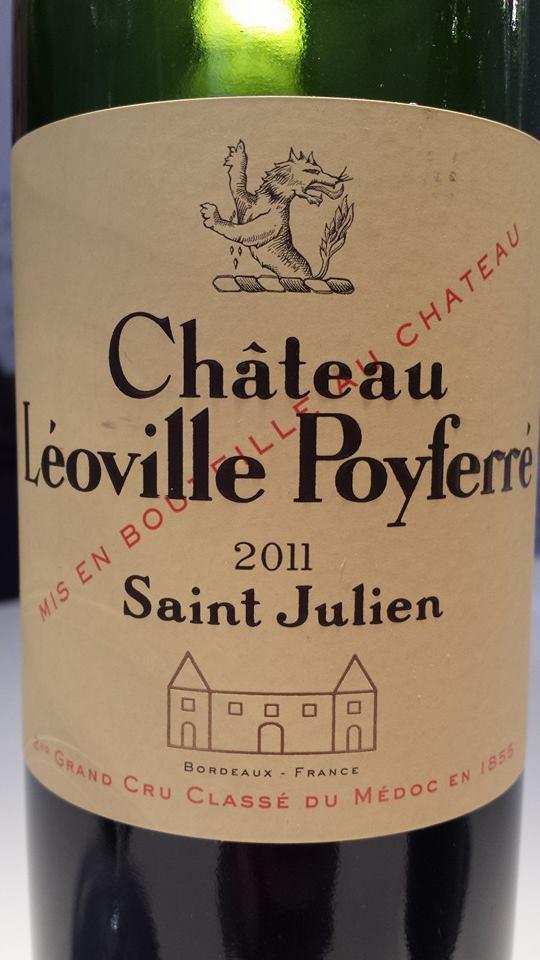 Château Léoville Poyferré 2011 – Saint-Julien – 2ème Grand Cru Classé