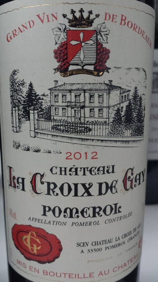 Château La Croix De Gay 2012 – Pomerol