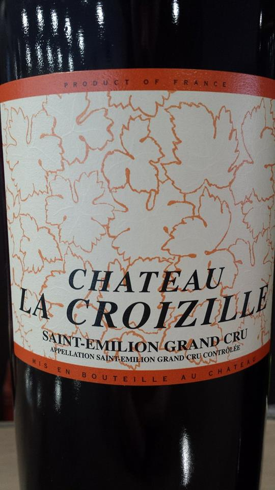 Château La Croizille 2009 – Saint-Emilion Grand Cru