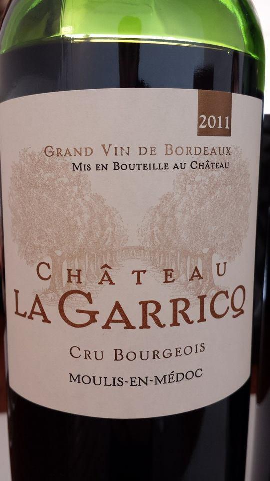 Château La Garricq 2011 – Moulis-en-Médoc – Cru Bourgeois