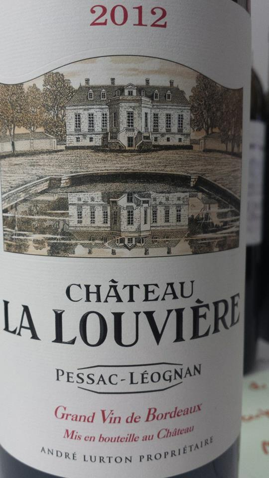 Château La Louvière 2012 – Pessac-Léognan