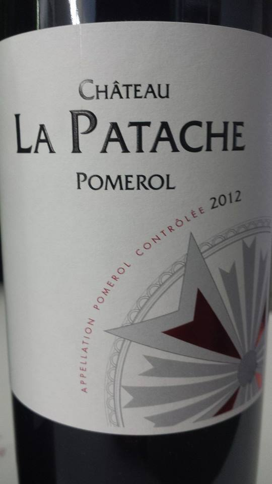 Château La Patache 2012 – Pomerol