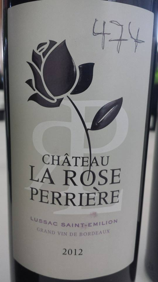 Château La Rose Perrière 2012 – Lussac Saint-Emilion