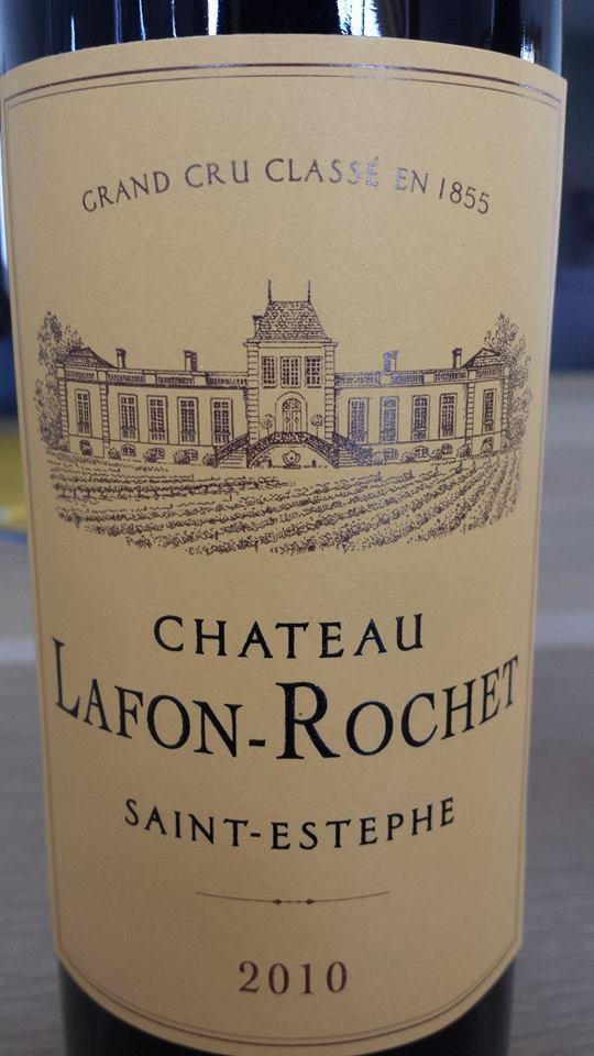 Château Lafon-Rochet 2010 – Saint-Estèphe – 4ème Grand Cru Classé