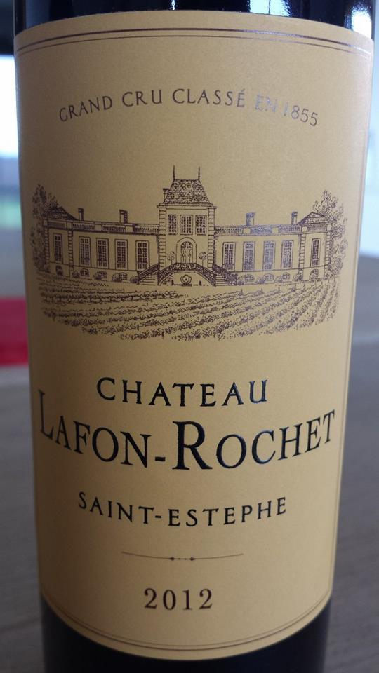 Château Lafon-Rochet 2012 – Saint-Estèphe – 4ème Grand Cru Classé