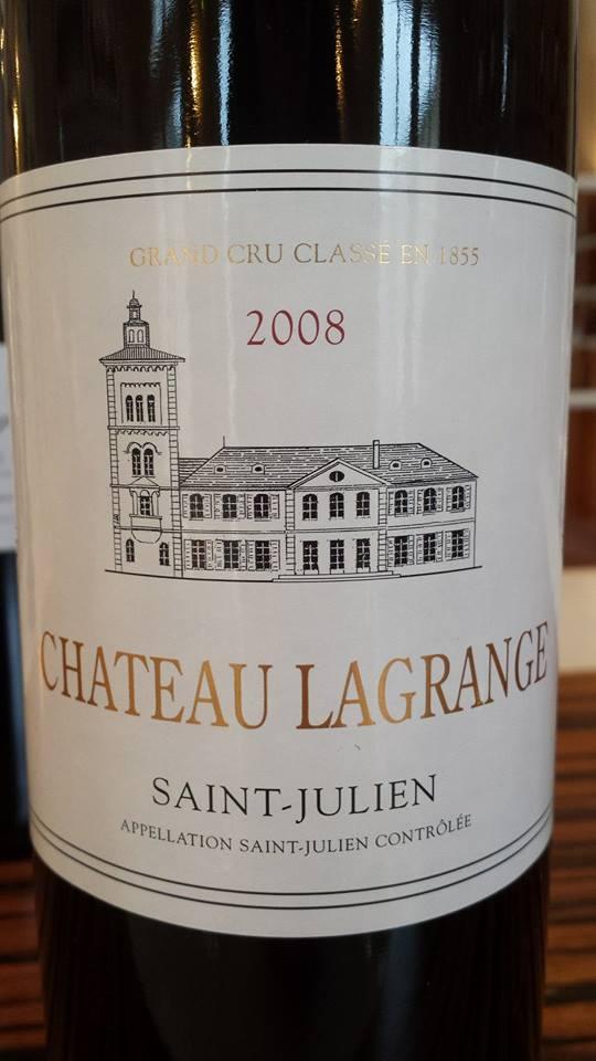 Château Lagrange 2008 – Saint-Julien, 3ème Grand Cru Classé