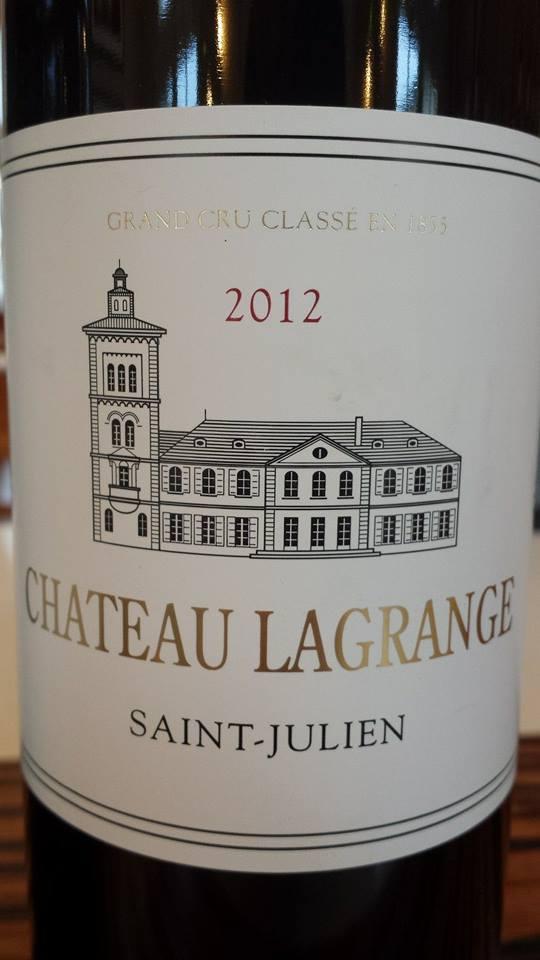 Château Lagrange 2012 – Saint-Julien, 3ème Grand Cru Classé