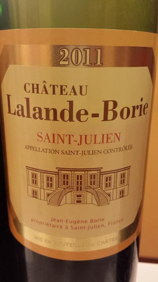 Château Lalande-Borie 2011 – Saint-Julien