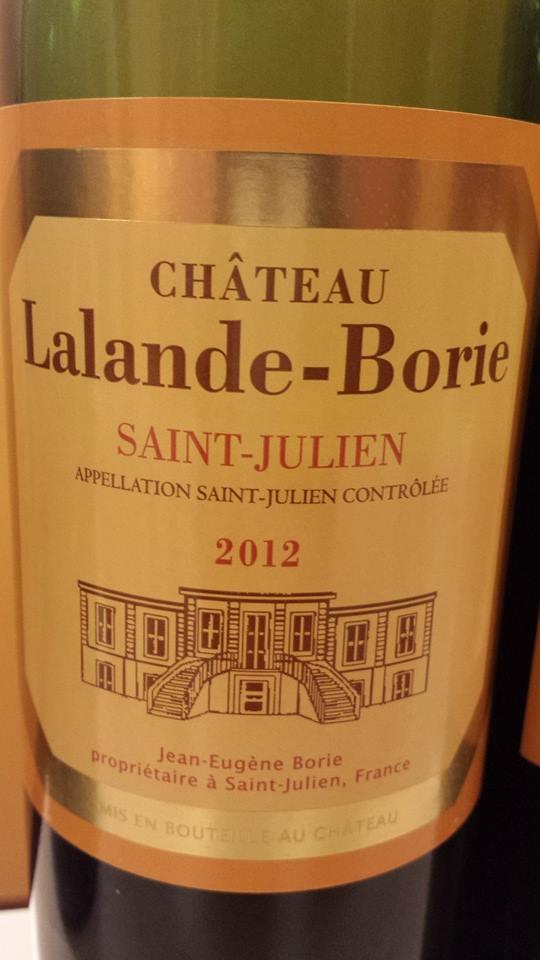 Château Lalande-Borie 2012 – Saint-Julien