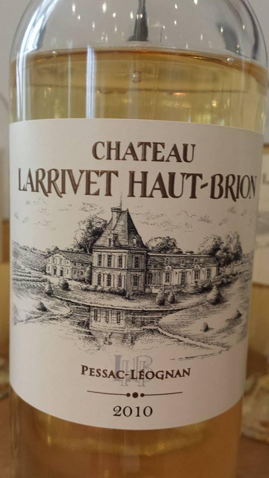 Château Larrivet Haut-Brion 2010 – Pessac-Léognan