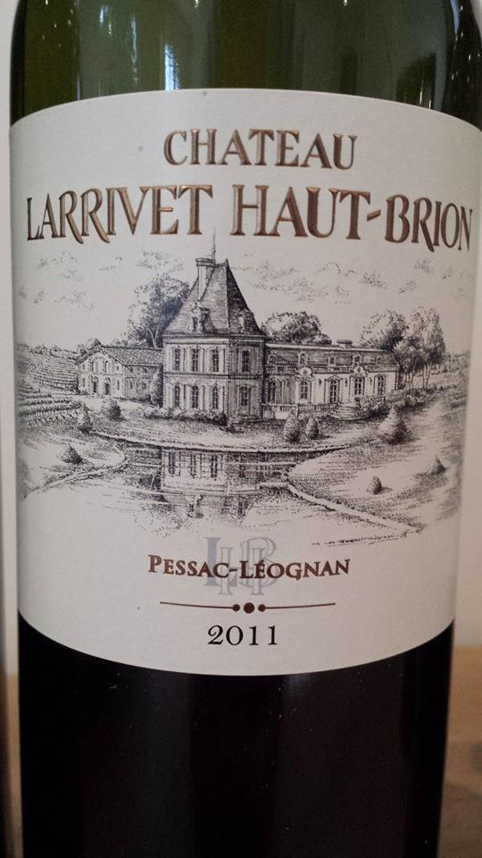 Château Larrivet Haut-Brion 2011 – Pessac-Léognan