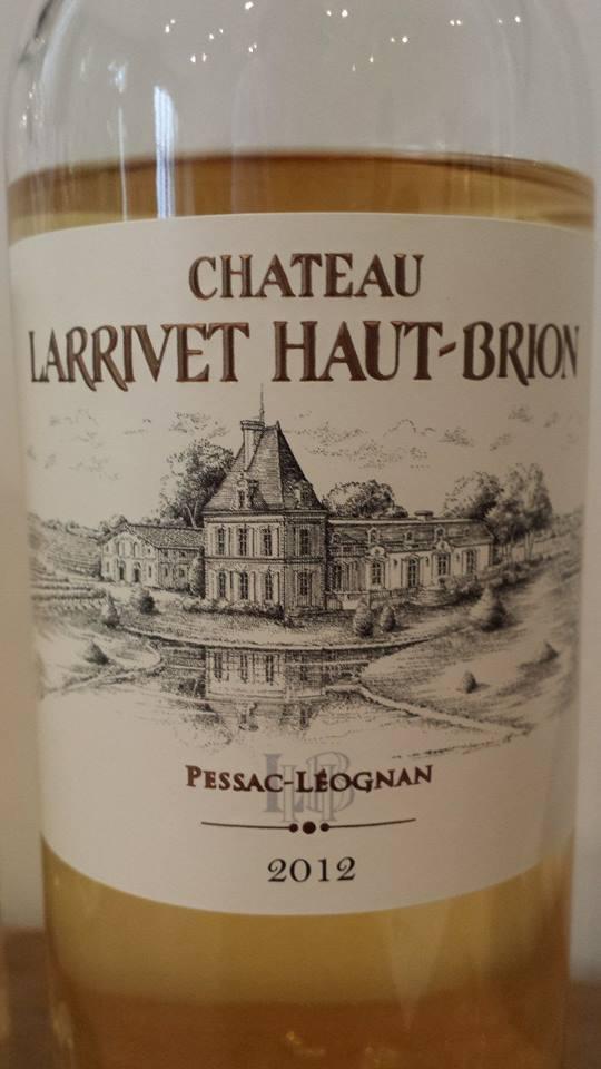 Château Larrivet Haut-Brion 2012 – Pessac-Léognan