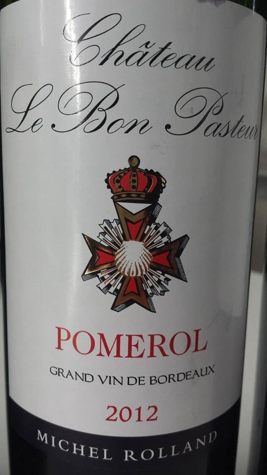 Château Le Bon Pasteur 2012 – Pomerol