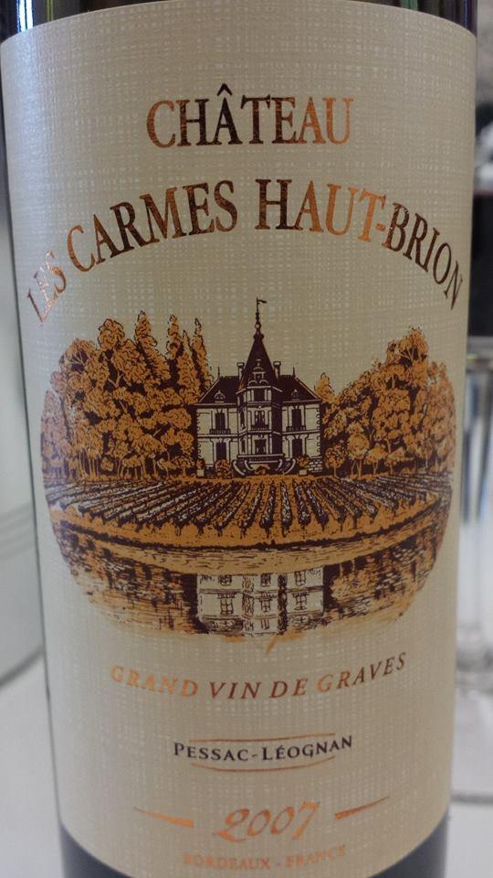 Château Les Carmes Haut-Brion 2007 – Pessac-Léognan