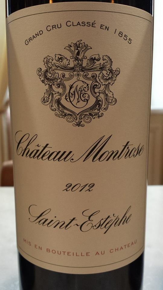 Château Montrose 2012 – Saint-Estèphe – 2nd Grand Cru Classé
