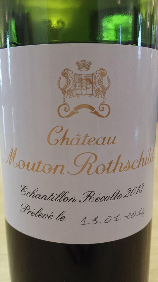 Château Mouton Rothschild 2013 – Pauillac – 1er Grand Cru Classé