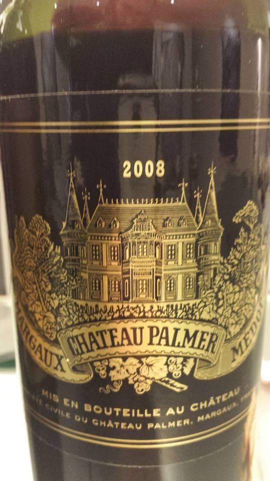 Château Palmer 2008 – 3ème Grand Cru Classé à Margaux