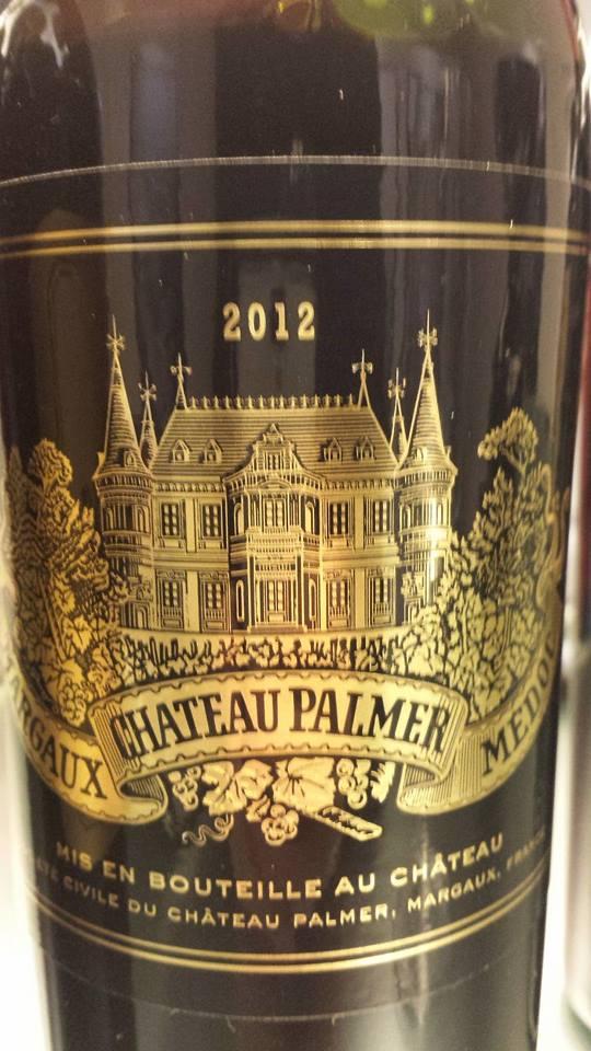 Château Palmer 2012 – 3ème Grand Cru Classé à Margaux