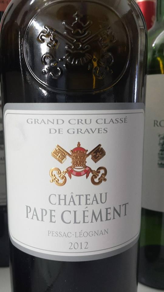 Château Pape Clément 2012 – Pessac-Léognan – Grand Cru Classé de Graves