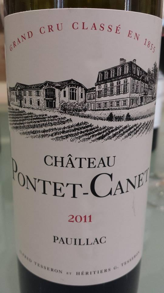 Château Pontet-Canet 2011 – Pauillac – 5ème Grand Cru Classé