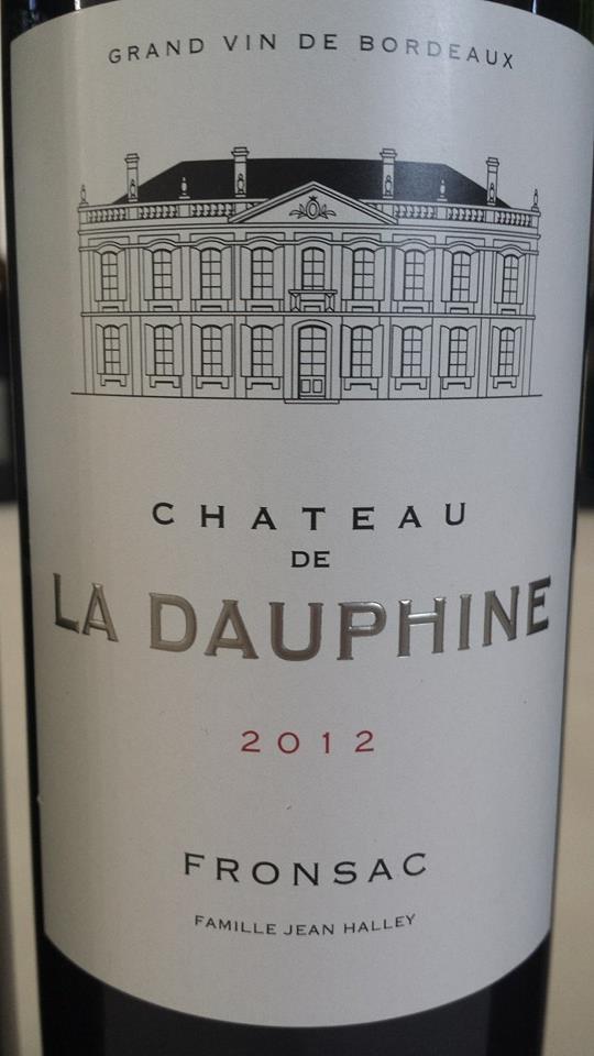 Château de La Dauphine 2012 – Fronsac