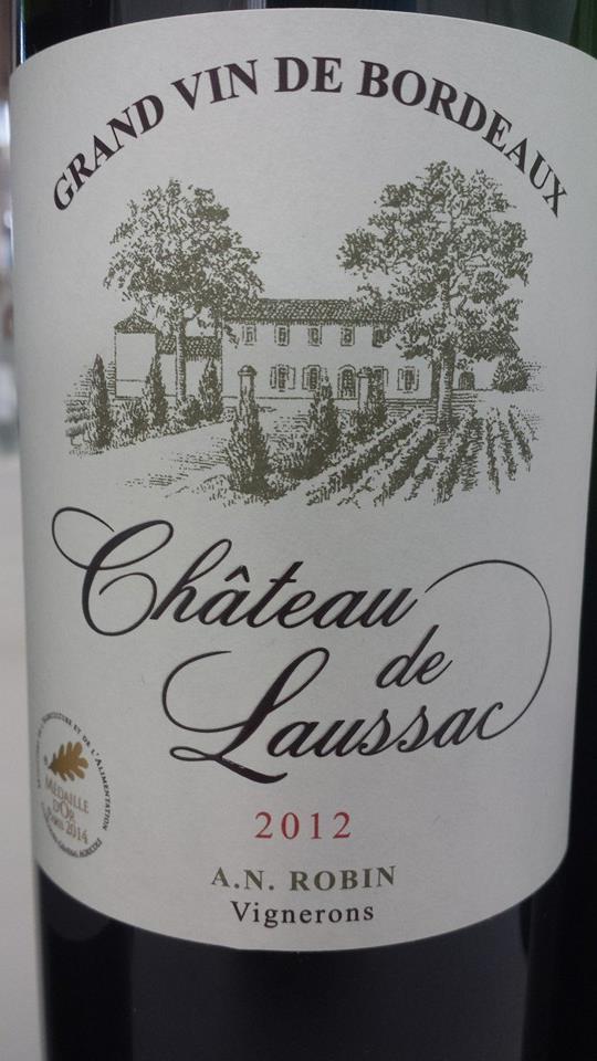 Château de Laussac 2012 – Castillon Côtes-de-Bordeaux