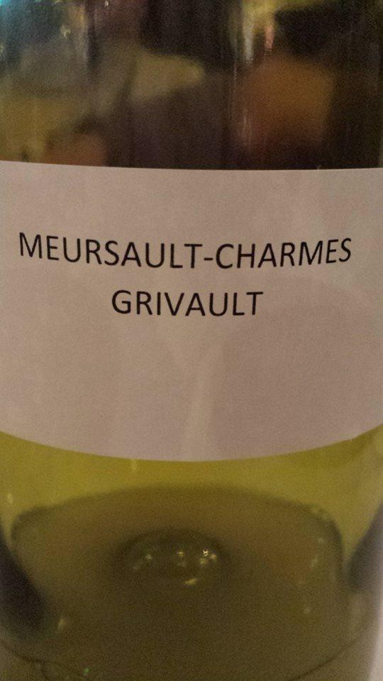 Domaine des Hospices de Beaune – Albert Grivault 2013 – Meursault-Charmes 1er Cru