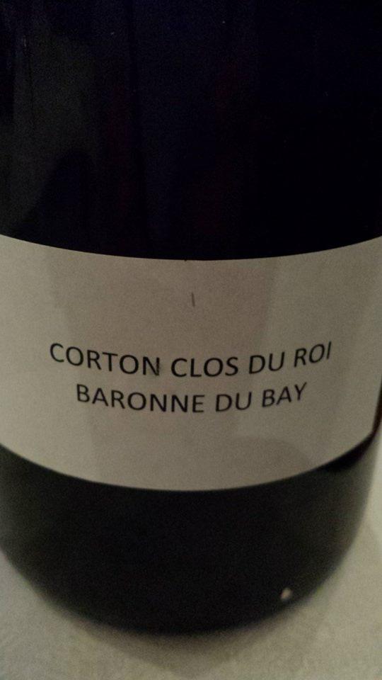 Domaine des Hospices de Beaune – Baronne du Baÿ 2013 – Corton Clos du Roi Grand Cru