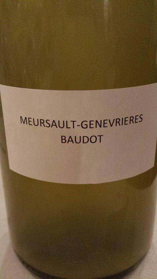 Domaine des Hospices de Beaune – Baudot 2013 – Meursault-Genevrières 1er Cru