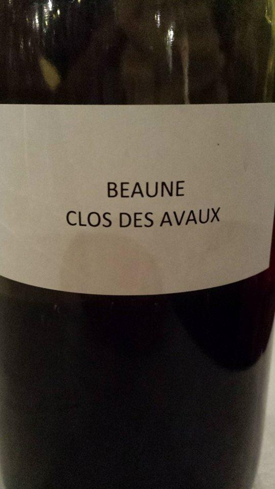 Domaine des Hospices de Beaune – Clos des Avaux 2013 – Beaune 1er Cru