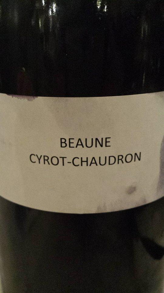 Domaine des Hospices de Beaune – Cyrot-Chaudron 2013 – Beaune 1er Cru