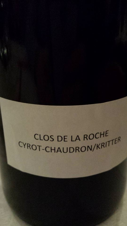 Domaine des Hospices de Beaune – Cyrot-Chaudron 2013 – Clos de la Roche Grand Cru