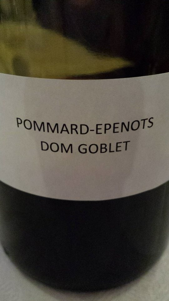Domaine des Hospices de Beaune – Dom Goblet 2013 – Pommard-Epenots 1er Cru