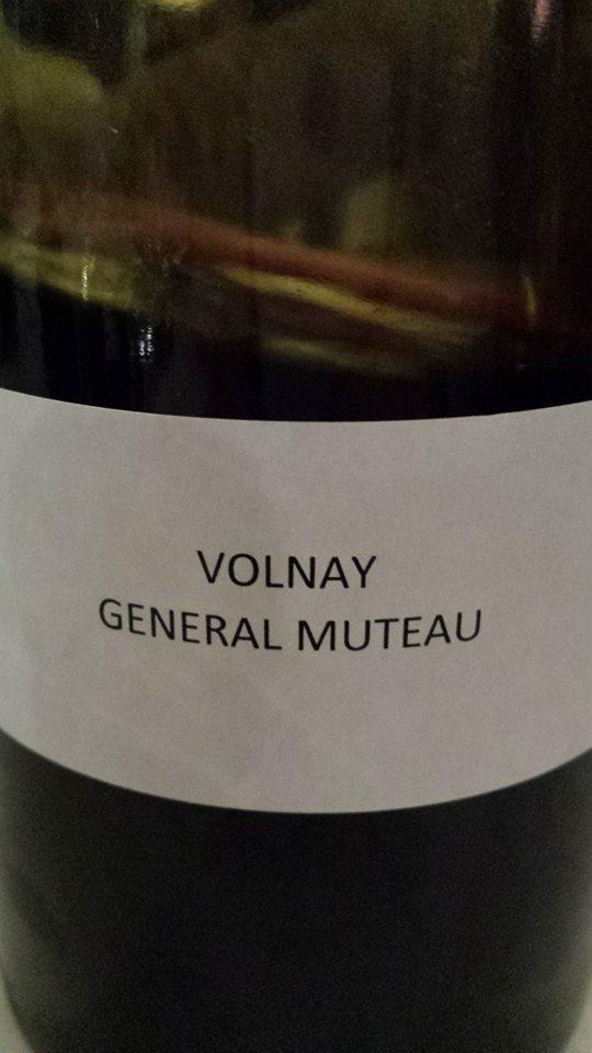 Domaine des Hospices de Beaune – Général Muteau 2013 – Volnay 1er Cru