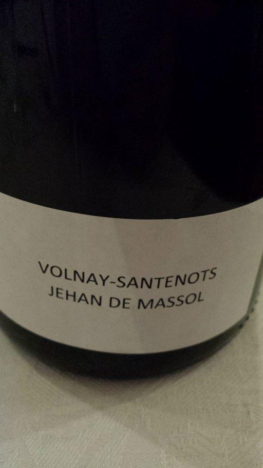 Domaine des Hospices de Beaune – Jéhan de Massol 2013 – Volnay-Santenots 1er Cru