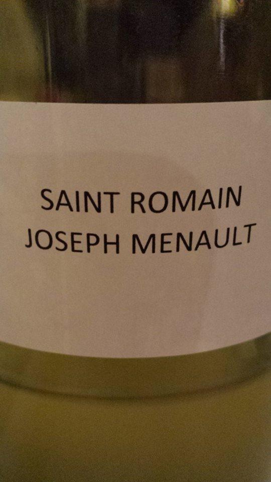 Domaine des Hospices de Beaune – Joseph Menault 2013 – Saint-Romain