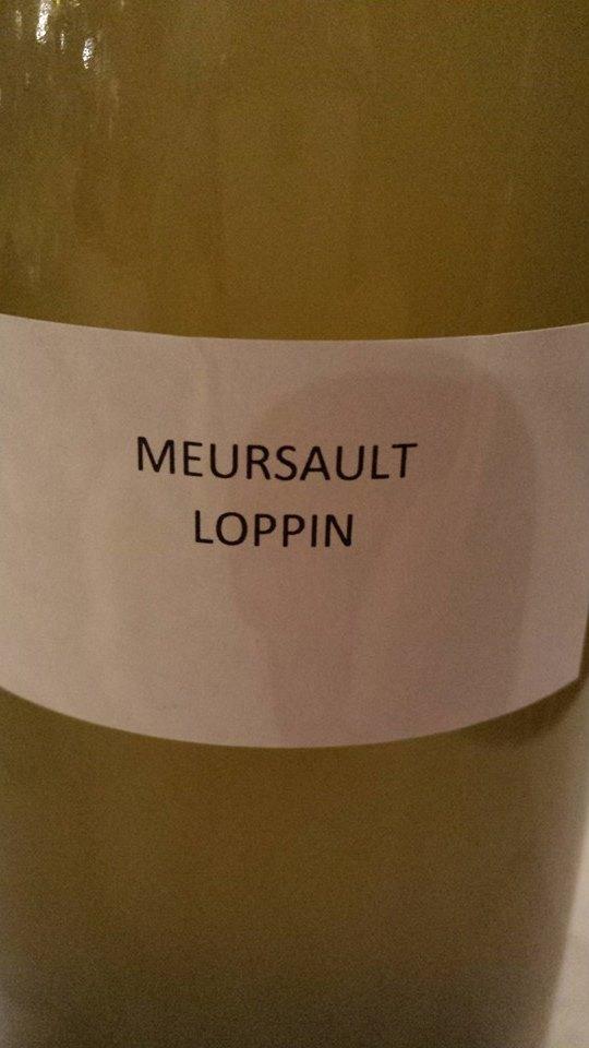 Domaine des Hospices de Beaune – Loppin 2013 – Meursault