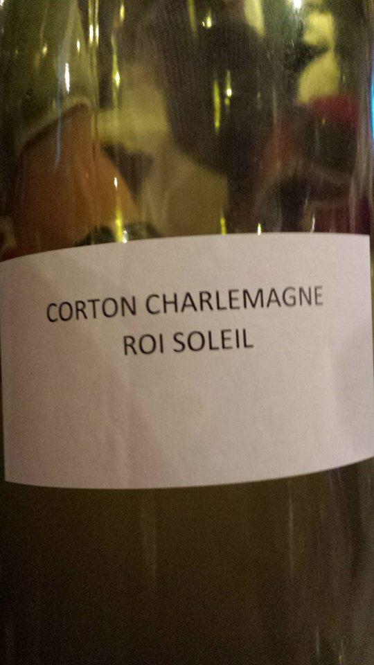 Domaine des Hospices de Beaune – Roi Soleil 2013 – Corton-Charlemagne Grand Cru