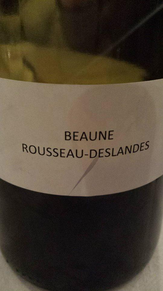 Domaine des Hospices de Beaune – Rousseau-Deslandes 2013 – Beaune 1er Cru