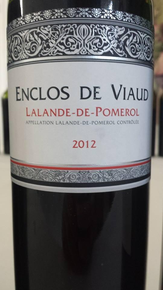 Enclos de Viaud 2012 – Lalande de Pomerol