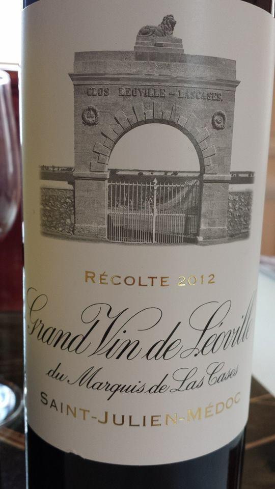 Grand Vin de Léoville du Marquis de Las Cases 2012 – Saint-Julien – 2ème Grand Cru Classé