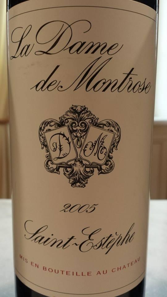 La Dame de Montrose 2005 – Saint-Estèphe