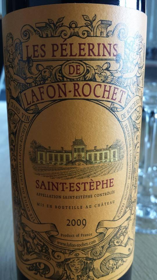 Les Pèlerins de Château Lafon-Rochet 2009 – Saint-Estèphe